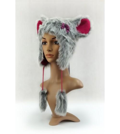 Czapka Zwierzak Mysz